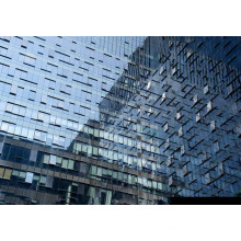 Steel Structure Glass Curtain Wall system Design